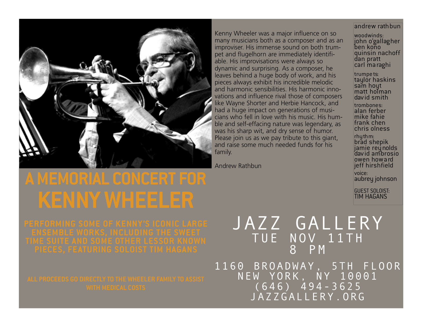 Andrew on Kenny Wheeler