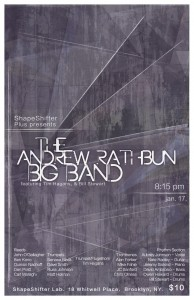 Andrew Rathbun Large Ensemble Sunday January 17th