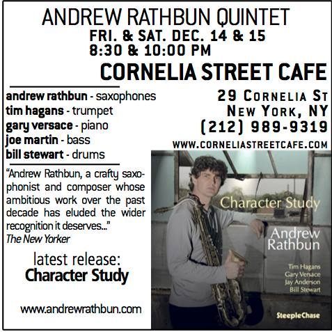 Character Study CD Release Event at Cornelia Street Cafe