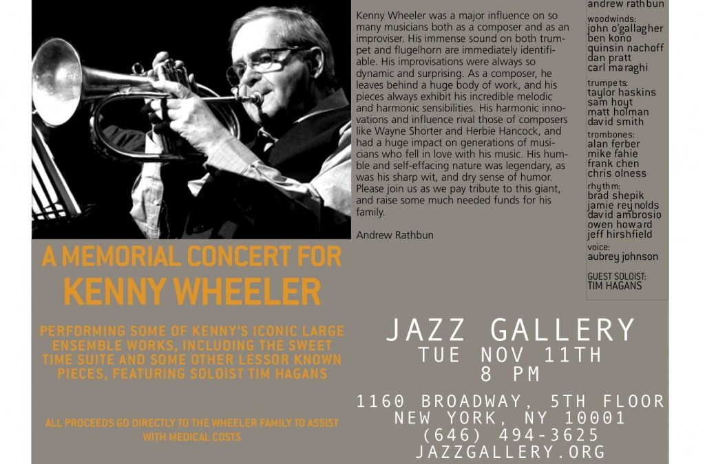 Memorial Concert for Kenny Wheeler
