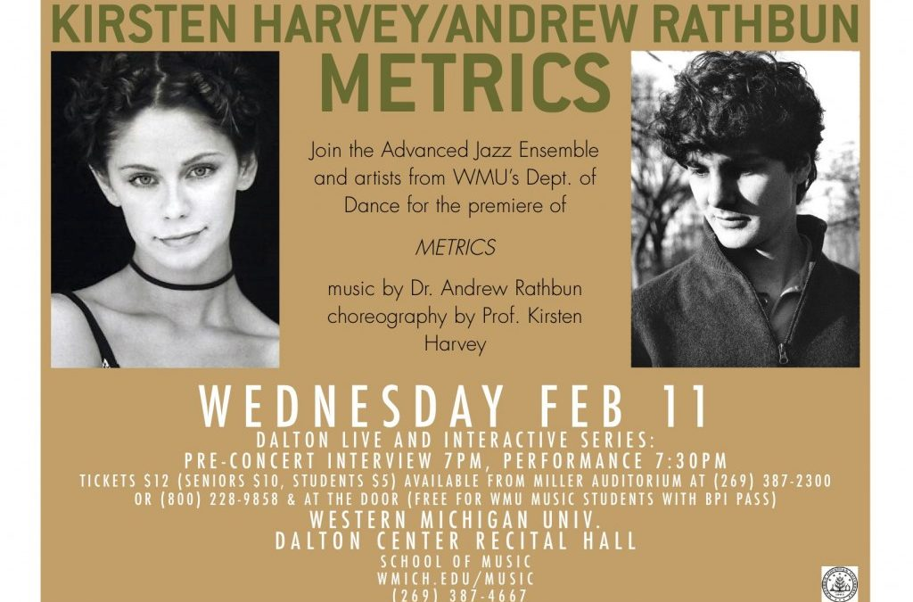 Metrics: WMU Jazz & Dance Collaboration